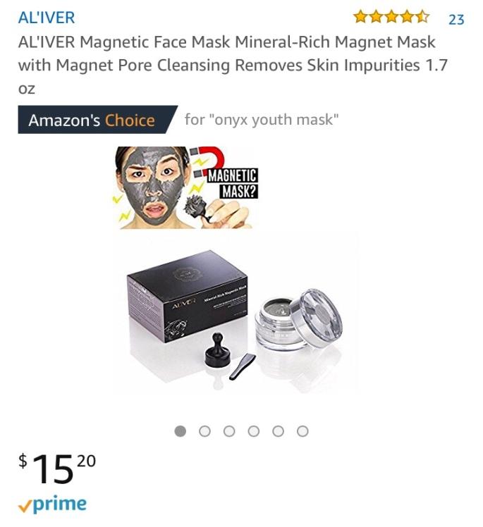 AL'IVER Magnetic Mask - Amazon